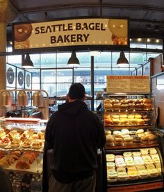Seattle Bagel Bakery @ Pikes Place Market