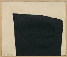 """Hreppholar I, from Hreppholar I-VIII, one from a series of 8 etchings, 1991, Richard Serra, printer Gemini G.E.L., Los Angeles. composition 24 5/8 x 29 1/2 in., sheet 31 1/2 x 37 3/16 in., Tribeca, New York, USA. """"In an effort to achieve the dense texture of paintstick, a medium used in many drawings, and to provide an appropriate counterpart for the rough-hewn surface of the basalt stones..."""" Text from 'ARTISTS AND PRINTS, MASTERWORKS FROM MOMA,' Deborah Wye, 2004."""
