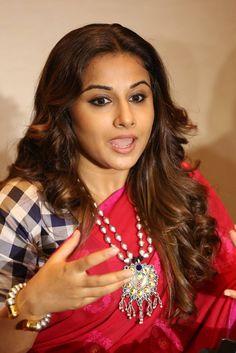 #Vidya Balan actress in traditional red saree latest photoshoot stills