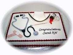 NURSING GRADUATION CAKES | Click for larger version