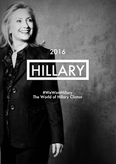 Hillary 2016.