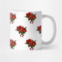 Check out this awesome 'Berry+Christmas+Pattern' design on Berry, Pattern Design, Christmas Gifts, Mugs, Tableware, Awesome, Check, Xmas Gifts, Christmas Presents