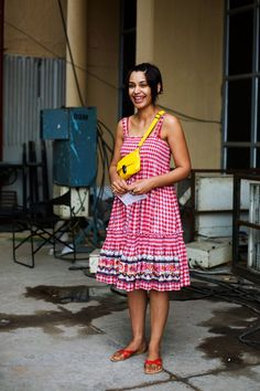 On the Street….Red & Yellow, New Delhi « The Sartorialist