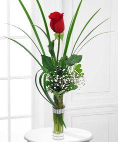Glamours Rose Vase-Boesen the Florist #boesen #florist