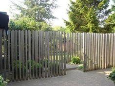 Minituin met prairie allure palen ontwerp h g tuinontwerp - Eigentijds pergola design ...