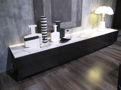 N.C. credenza nichel spazzolato lucido Acerbis International #arredamento #design #esclusivo