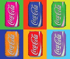 coca cola pop art