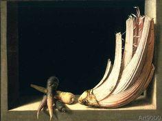 Juan Sanchez Cotan - Still Life with a Cardoon