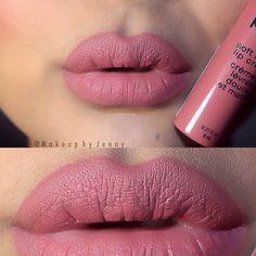 "@nyxcosmetics Soft matte lip cream ""CANNES"" Love this color"