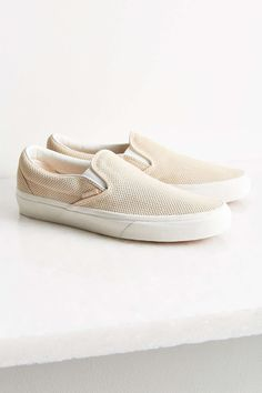 2e424aa4928 Urban Outfitters Vans Perforated Suede Slip-On Sneaker Vans Shop