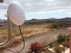 Seguimos instalando #NanoBeam19 #ubiquiti, con nuestro servicio #WiFiCanarias #AirInternet en el Sur de #Tenerife