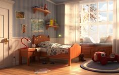 Autumn afternoon by Enrico Zerbo | Cartoon | 3D | CGSociety