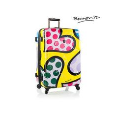 8db339553 Amazon.com | Heys USA Luggage Britto New Day 26 Inch Hard Side Suitcase,