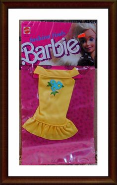 Vintage Barbie Clothes - 1980's Fashion Finds - NRFP - In Package - Lot 6 | eBay