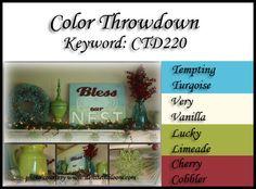 Color Throwdown: Color Throwdown #220