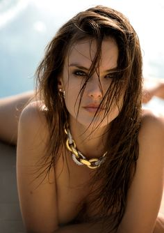 therubyrussian:   Alessandra Ambrosio by Gilles...