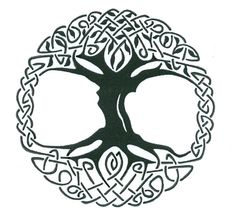 Celtic Tree Of Life Tattoos Ideas Celtic Tree Tattoos, Oak Tree Tattoo, Viking Tattoos, Celtic Knot Meanings, Celtic Symbols, Celtic Art, Celtic Knots, Ancient Symbols, Tattoo Life