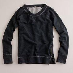 zip sweat shirt