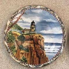 4-American-Atelier-Signals-5100-Lighthouse-Salad-Plates-8-034-Diameter-See-Pix - Ebay/aarrghrk seller
