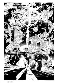 The Fantastic Four by Mike Mignola