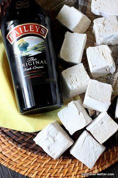 Baileys Irish Cream Marshmallows