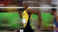 The fastest human has a quick smile. CNN's Jeanne Moos reports Usain Bolt's…