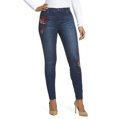 Women's Gloria Vanderbilt Jessa Curvy Skinny Jeans, Size: 8 - regular, Med Blue