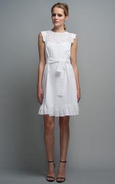 Broderie Anglaise Crochet Dress by Issa - Moda Operandi