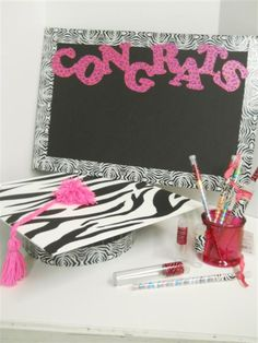 graduation party ideas with duct tape and foam board