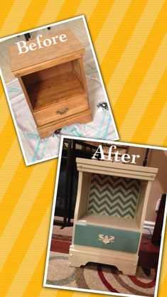 Side table or nightstand redo