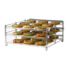 Baking Rack Insert - major timesaver to be able to back way more at one time!! Maybe I can bake!!