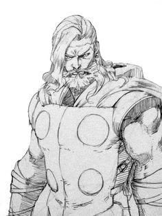 Thor by Jae Hong Kim #Avengers