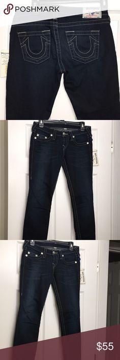 I just added this listing on Poshmark: True Religion dark wash skinny  jeans. #shopmycloset #poshmark #fashion #shopping #style #forsale #True Religion #Denim