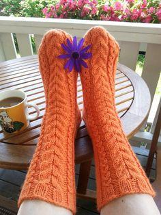 October socks.  Ohje Niina Laitinen design