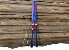 Skis and Pole
