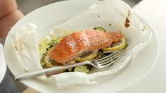 Watch Martha Stewart's Salmon and Zucchini Baked in Parchment Video. Get more step-by-step instructions and how to's from Martha Stewart.