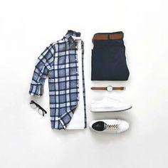 Perfect Capsule Wardrobe Look. #mens #fashion