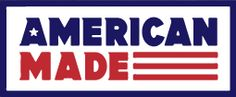 American Made... patriotic purchases!