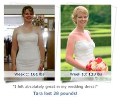 Tara's weight loss success story! I had put on about 10-15 lbs in the last year and decided that my upcoming #wedding was good #motivation to do something about it. I had never really dieted before, so I was apprehensive going into Medi-Weightloss Clinics® for my first appointment...In 2½ months, I lost 32 pounds † and went from a size 10 to a size 2. I far exceeded my original goal without even really trying, and I felt absolutely great in my wedding #dress! #weightloss