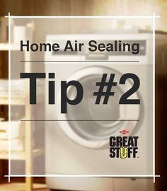 Home Air Sealing Tip: Seal around water and waste pipes leading to exterior walls with GREAT STUFF Big Gap Filler. | greatstuff.dow.com | #closingthegap #GREATSTUFF #Insulation