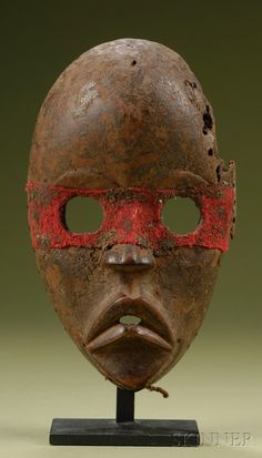 Dan Zakpai Mask, Ivory Coast http://afriart.tumblr.com/post/90699491109/ivory-coast-dan-zakpai-fire-prevention-mask