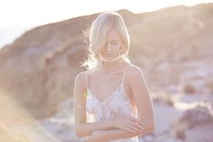 Tonight You're in My Heart by Lost In Love. Wedding inspiration editorial - lingerie - Mae's Sunday