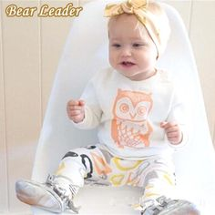 Baby Girls Clothes Set Long Sleeve T-shirt   Pants Owl Pattern Baby Clothing Set born Baby Costume Suits $26.06 => Save up to 60% and Free Shipping => Order Now! #fashion #woman #shop #diy www.bbaby.net/...