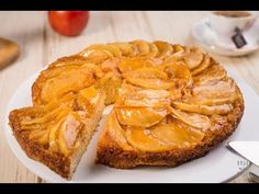 Pastel de manzana casero - Postre fácil - YouTube