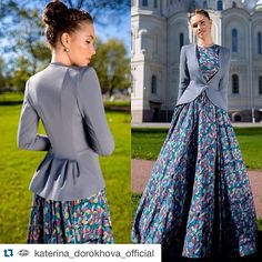 Este posibil ca imaginea să conţină: 2 persoane Modest Dresses, Modest Outfits, Pretty Dresses, Beautiful Dresses, Dress Outfits, Muslim Fashion, Modest Fashion, Hijab Fashion, Fashion Dresses