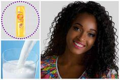 receita caseira para hidratação de cabelos crespos ou cacheados