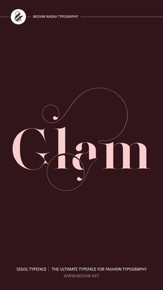 Fashion Typography, Typography Fonts, Graphic Design Typography, Lettering, Fashion Logo Design, Logo Design Trends, Personal Logo, Design Projects, Alphabet