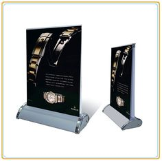 Double Sided A3 Mini Pop up Banner Stand