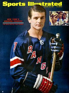 A look back at the amazing career of Ranger great Rod Gilbert. Rangers Top, Rangers Hockey, Rink Hockey, Si Cover, Hockey Pictures, Sports Illustrated Covers, Star Wars, Sports Magazine, Pittsburgh Penguins Hockey