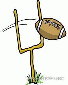 football clipart sports pinterest cheer cheerleading and rh pinterest com field goal kick clipart